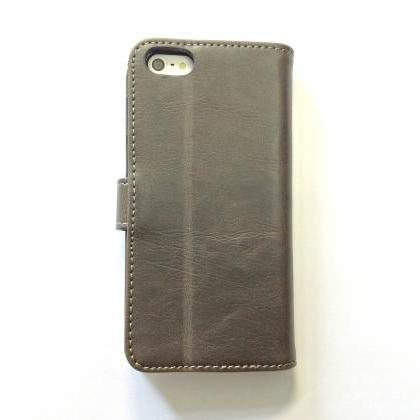 Dragon iphone 6 6s 4.7 grey leather..
